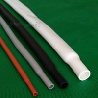 厂家批发直销200℃耐高温耐磨柔软硅胶热缩管